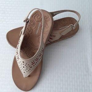 Rockport Keona Perf Sling Sandal Womens Size 9